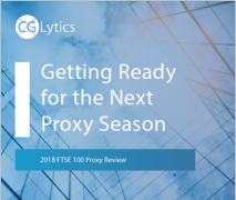 Review of FTSE 100 2018 Proxy Season – Getting ready for next proxy season